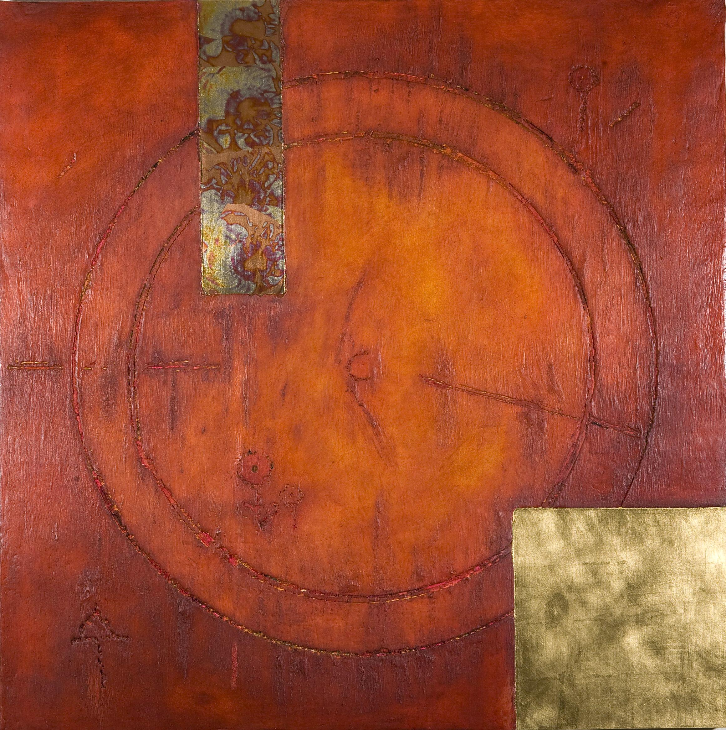 06-12-Mixed Media Holz-100 x 100 cm