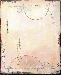 13-16 Mischtechnik Lackspachtel Leinwand 40 x 50 cm