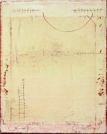 13-17 Mischtechnik Lacjspachtel Leinwand 40 x 50 cm