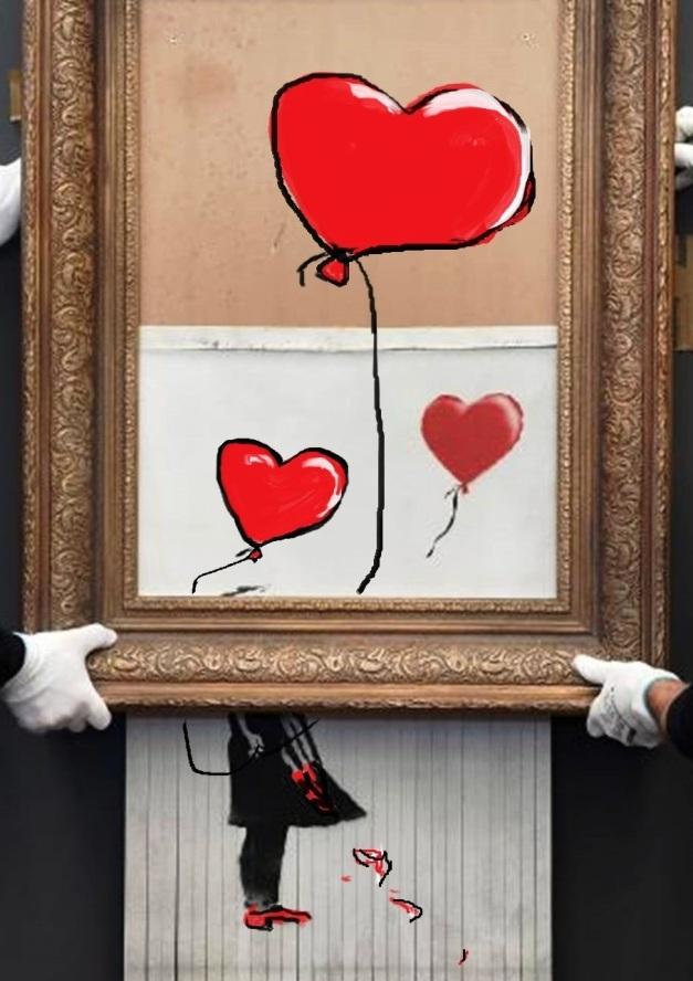 ..die Liebe ist aus dem Eimer auferstanden