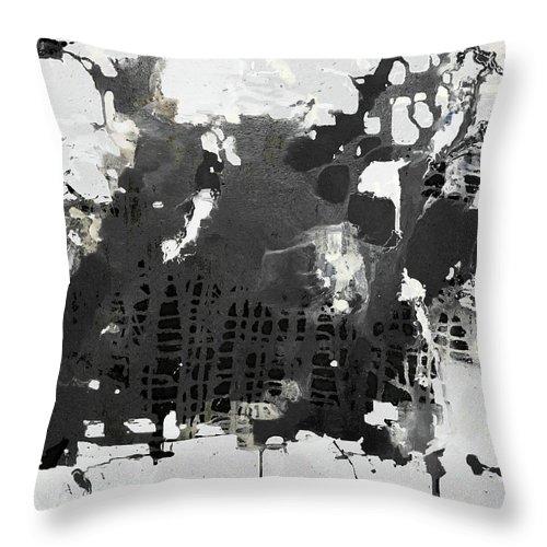 Throw Pillows black-field-white-rudi-eckerle17FN2HTH