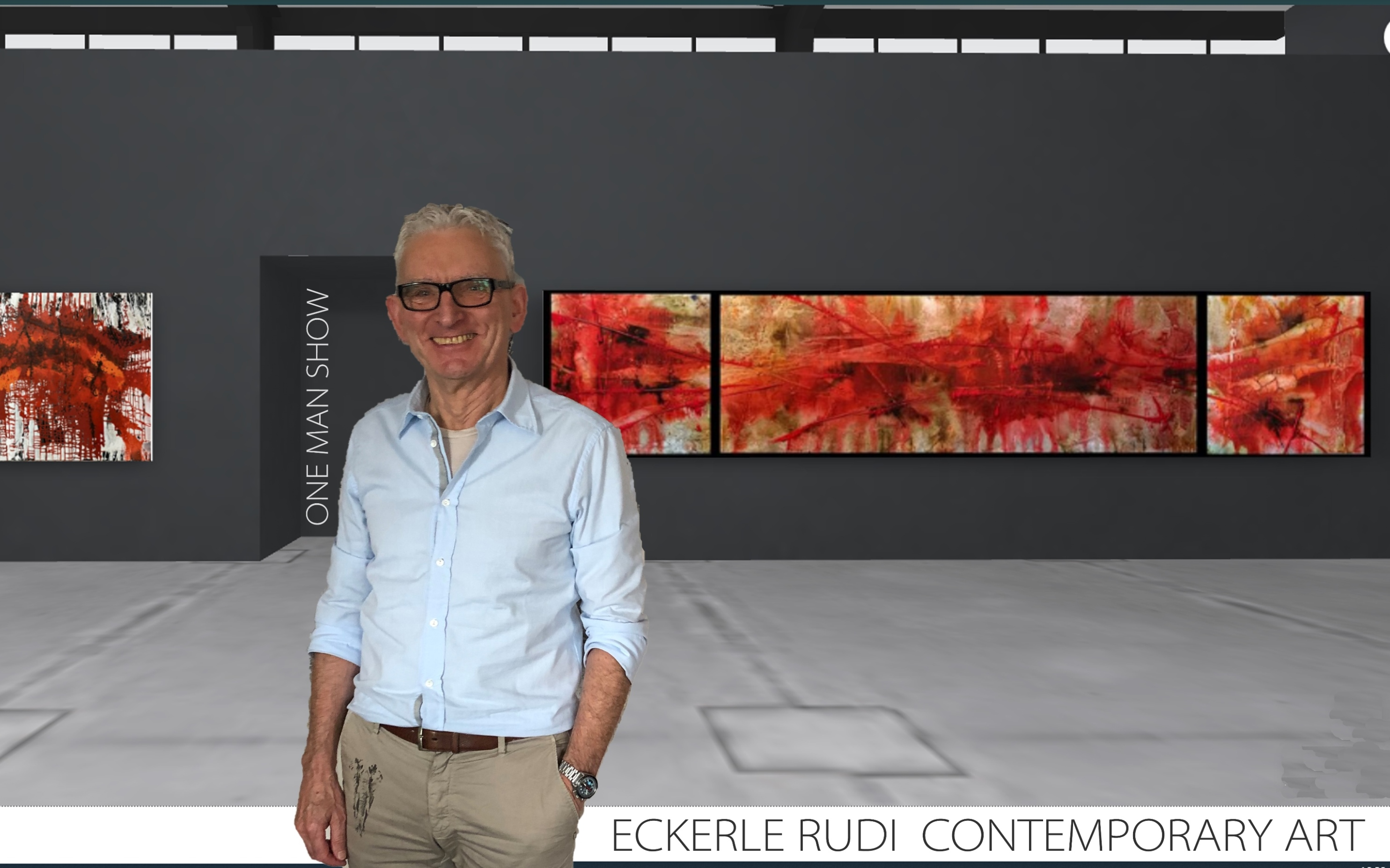 Eckerle Rudi One Man Show Contemporary Art kleiner