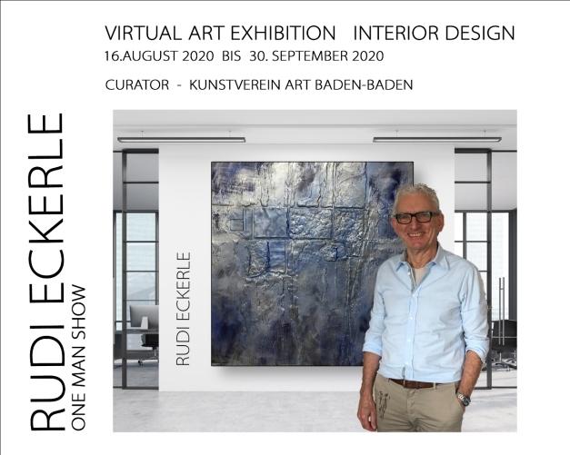 Plakat 3 Rudi Eckerle Exhibition August - September